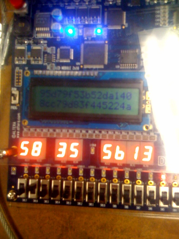 An overview of the setup